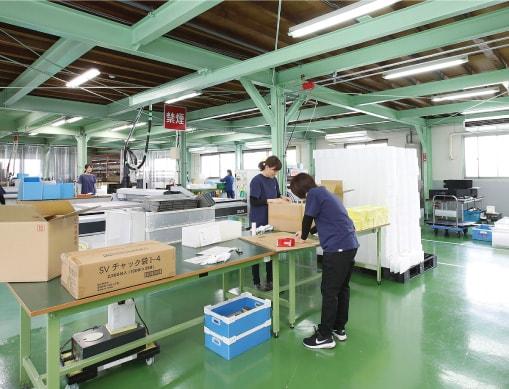 樹脂加工工場の画像