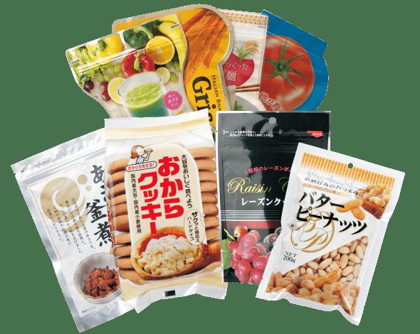 食品包材 別注パッケージの画像