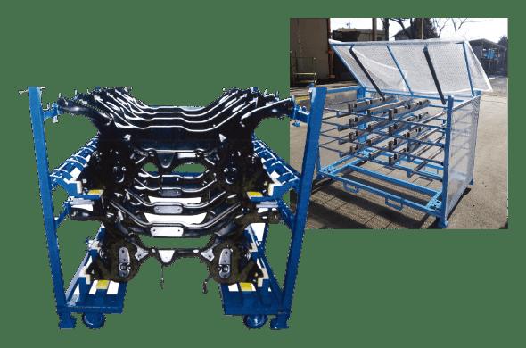 鉄製台車の画像